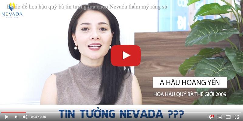 Nha khoa quốc tế Nevada - địa chỉ làm răng thẩm mỹ tin cậy của các ngôi sao, MC nổi tiếng
