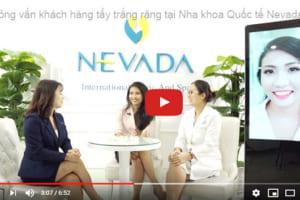 Phỏng vấn khách hàng tẩy trắng răng tại Nha khoa Quốc tế Nevada