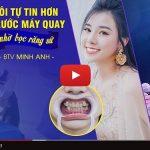 Livestream quá trình bọc răng sứ của MC Minh Anh VTC