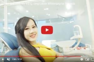 Livestream dịch vụ tẩy trắng răng Laser Whitening tại nha khoa Nevada
