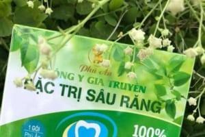 Thuốc đặc trị sâu răng Phú Ân có tốt không? Khách hàng nói gì?