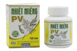 Nhiệt miệng PV giá bao nhiêu tiền và có hiệu quả không? Review người sử dụng