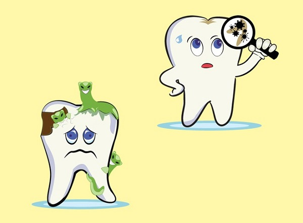 Trẻ em sâu răng hàm phải làm gì