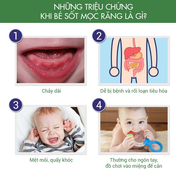 Trẻ mọc răng sớm tốt hay xấu
