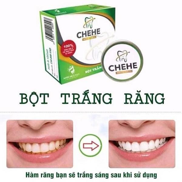 bột trắng răng chehe, bột trắng răng chehe có tốt không, bột trắng răng chehe có an toàn không, bột trắng răng chehe giá bao nhiêu, cách sử dụng bột trắng răng chehe, bột trắng răng chehe review, cách dùng bột trắng răng chehe, tác dụng của bột trắng răng chehe, bột trắng răng Chehe, chehe, bột trắng răng có tốt không, chehe trắng răng