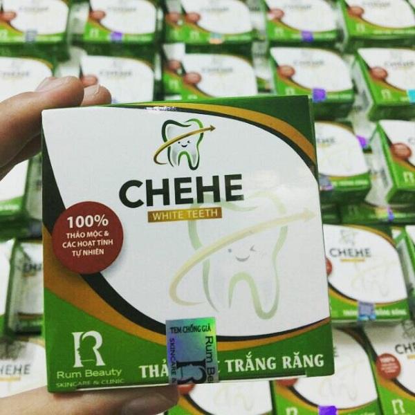 Bột trắng răng Chehe có an toàn không? Bột trắng răng Chehe bảng báo giá bao nhiêu?