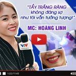 MC Hoàng Linh nói gì về dịch vụ tẩy trắng răng Laser Whitening tại Nevada