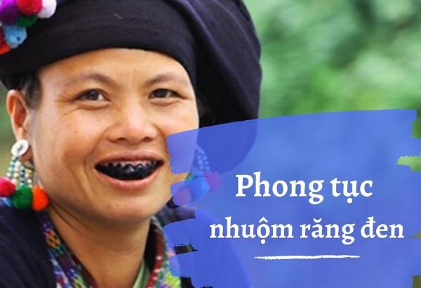 [Văn hóa Việt] Phong tục nhuộm răng đen để bảo vệ hàm răng