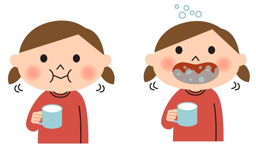 nuốt phải kem đánh răng có sao không