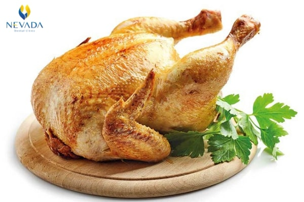 viêm lợi có ăn được thịt gà không, viêm lợi có nên ăn thịt gà không, bị viêm lợi có được ăn thịt gà không, viêm lợi có được ăn thịt gà không